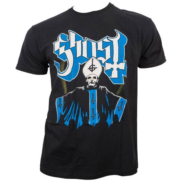 Ghost - T-Shirt Papa & Band - schwarz