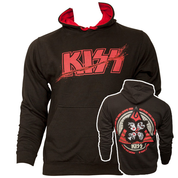 Kiss - Revolution Kapuzenpullover - schwarz