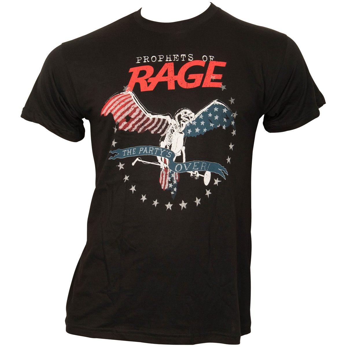 Prophets of Rage - T-Shirt The Party Is Over - schwarz