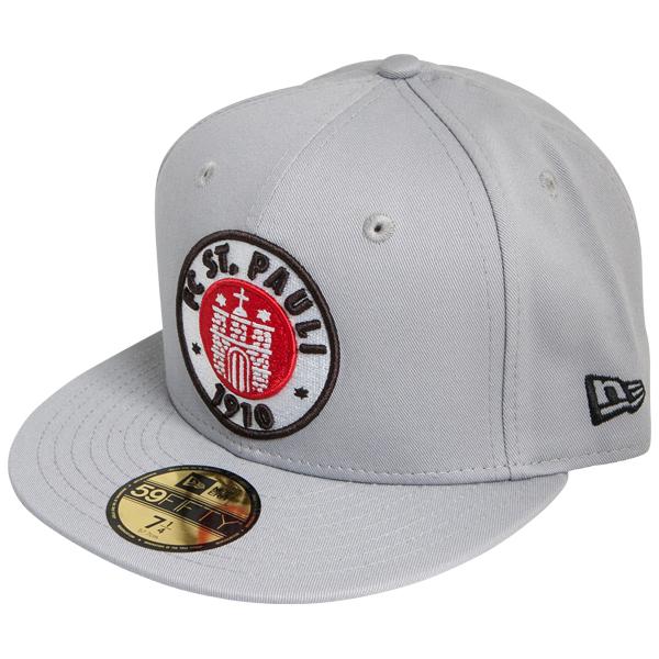 FC St. Pauli - Cap Logo Grau 59fifty - grau