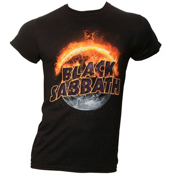 Black Sabbath - T-Shirt The End - schwarz