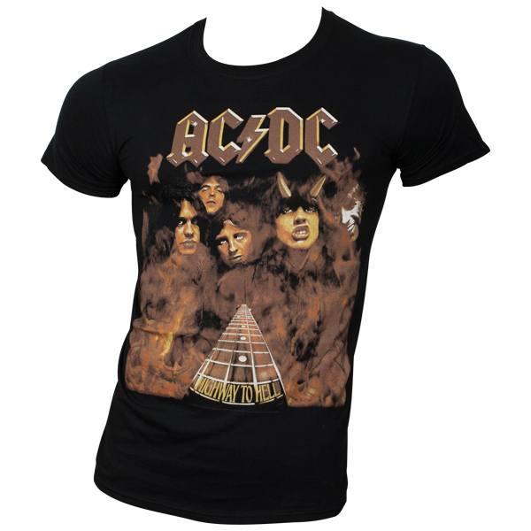 AC/DC - T-Shirt Hellfire - schwarz