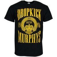 Dropkick Murphys - T-Shirt Claddagh - schwarz