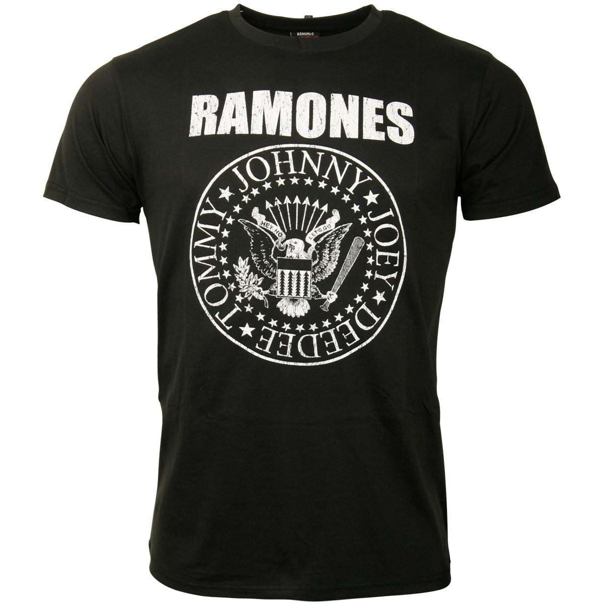The Ramones - T-Shirt Distressed Presidential Seal - schwarz