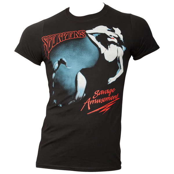 Scorpions - T-Shirt Savage Amusement - schwarz