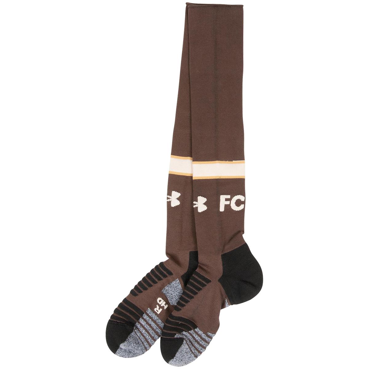 FC St. Pauli - Stutzen Heim 2020-21 - braun
