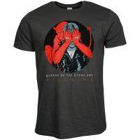 Queens Of The Stone Age - T-Shirt Villains - grau
