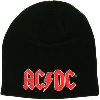 AC/DC - Mütze Red 3D Logo - schwarz