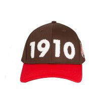 FC St. Pauli - Cap Frottee 1910 - braun-rot