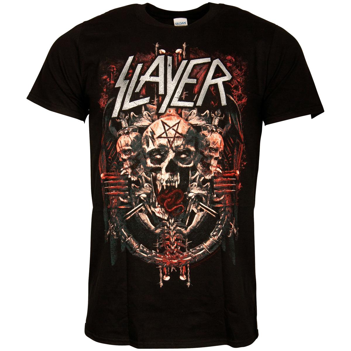 Slayer - T-Shirt Demonic Admat - schwarz