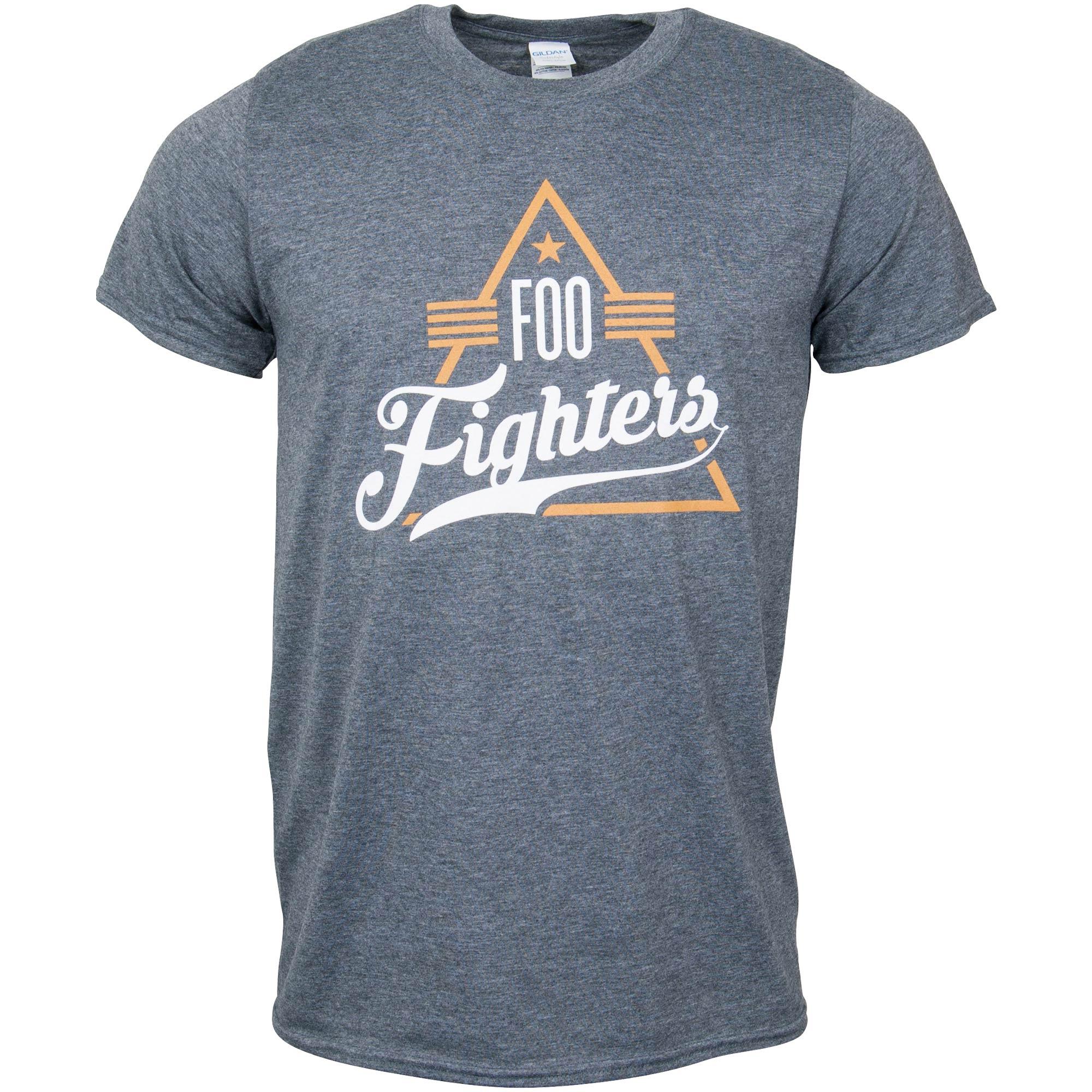 Foo Fighters - T-Shirt Triangle - grau