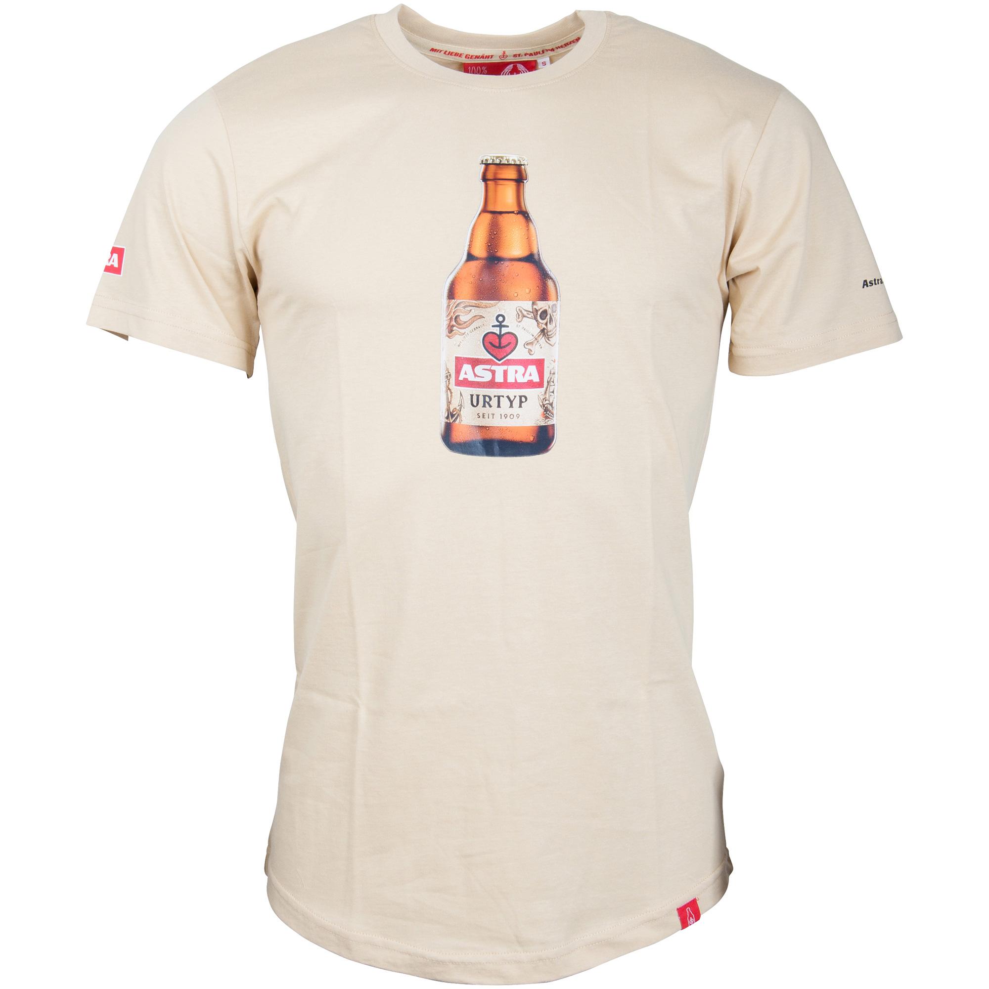 Astra - Herren T-Shirt Urtyp Knolle - beige