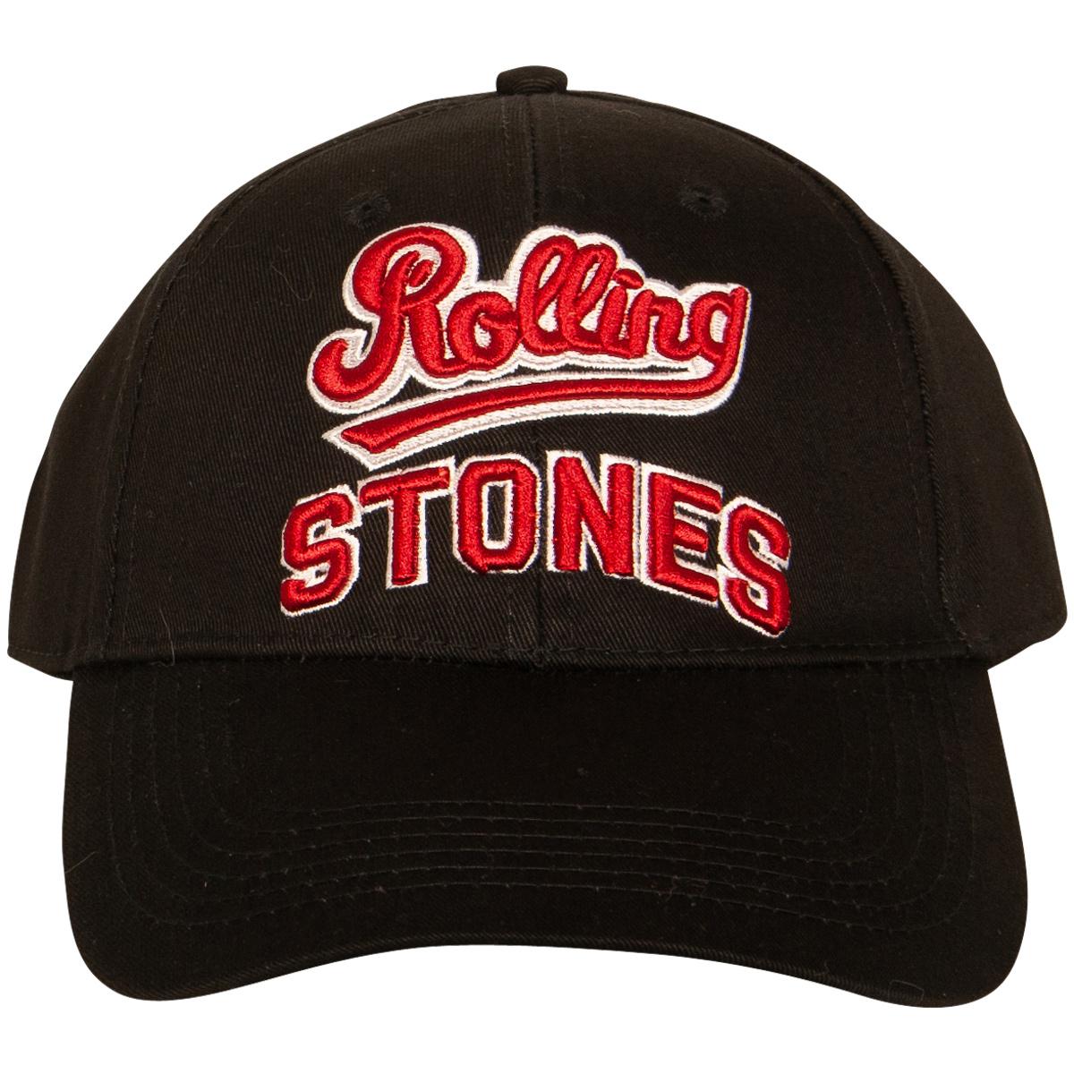 816454d3a The Rolling Stones - Baseball Cap Team Logo - black