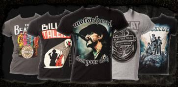 bands bandmerchandise t-shirts pullover metal rock motoerhead volbeat billy talent sabaton bestellen online shop