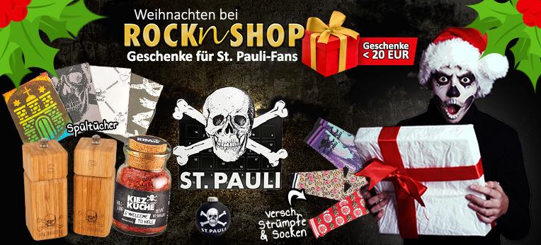 FC St. Pauli Weihnachtsgeschenke unter 20 EUR