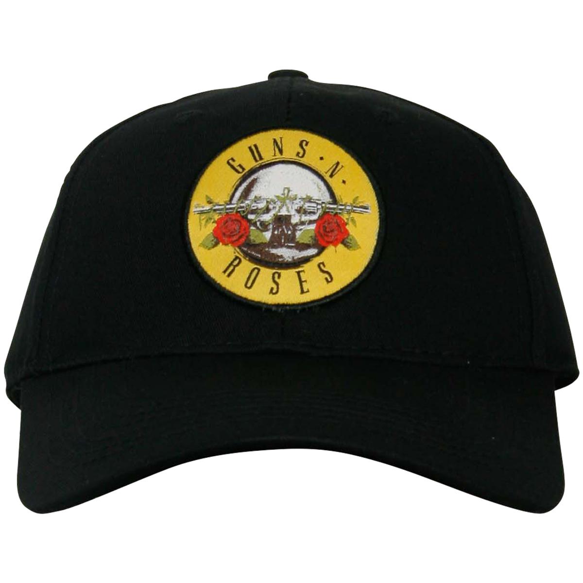 AC//DC Red Embossed Logo Official Baseball Cap