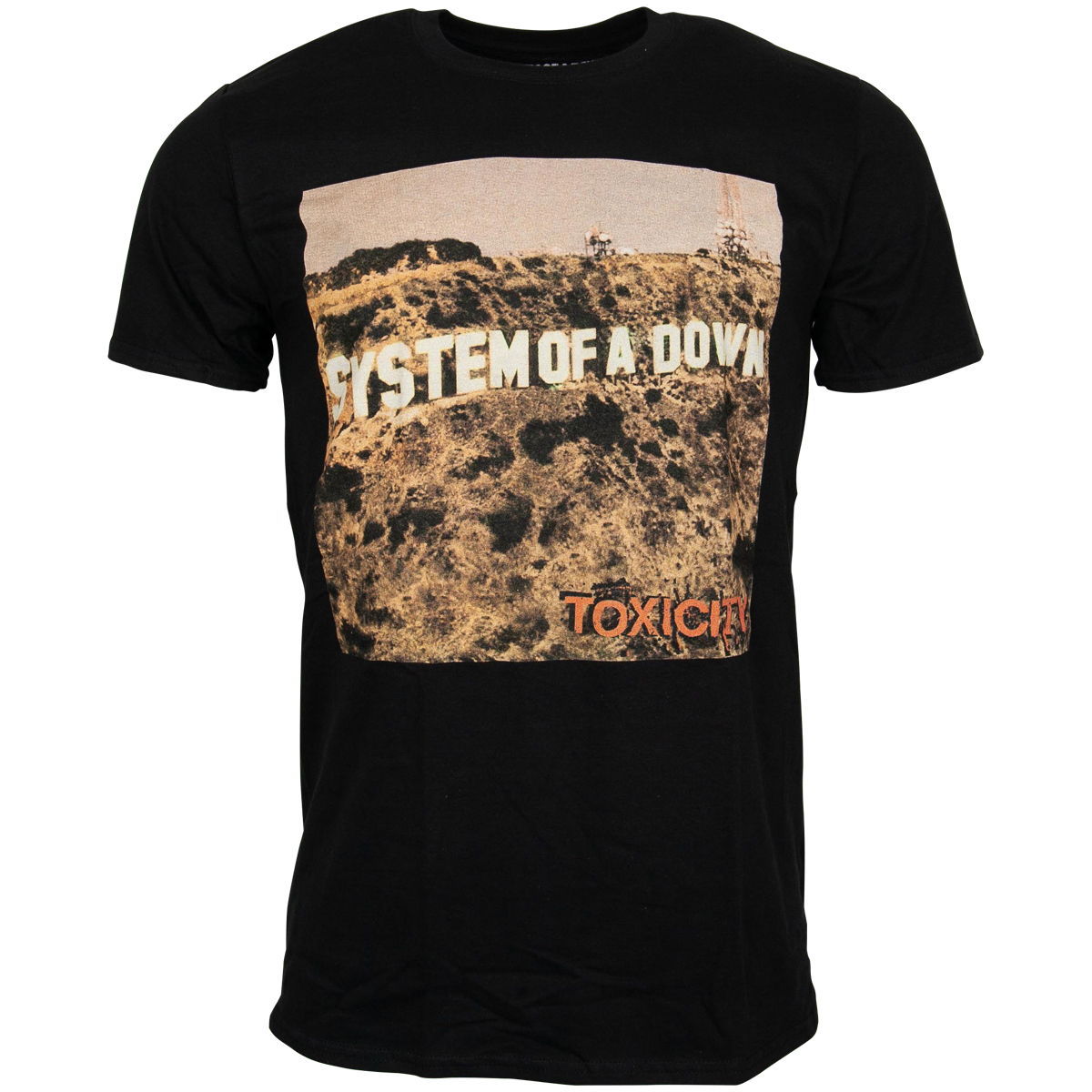 System Of A Down - T-Shirt Toxicity - schwarz