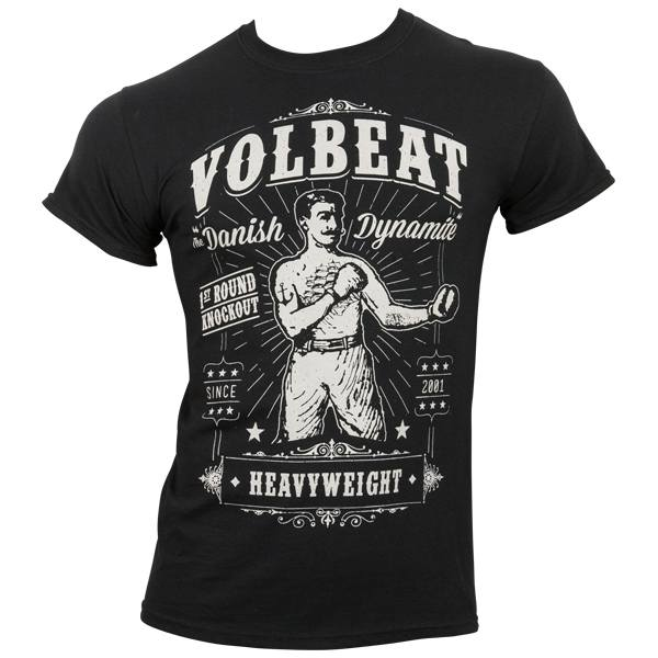 Volbeat - T-Shirt Knockout - schwarz