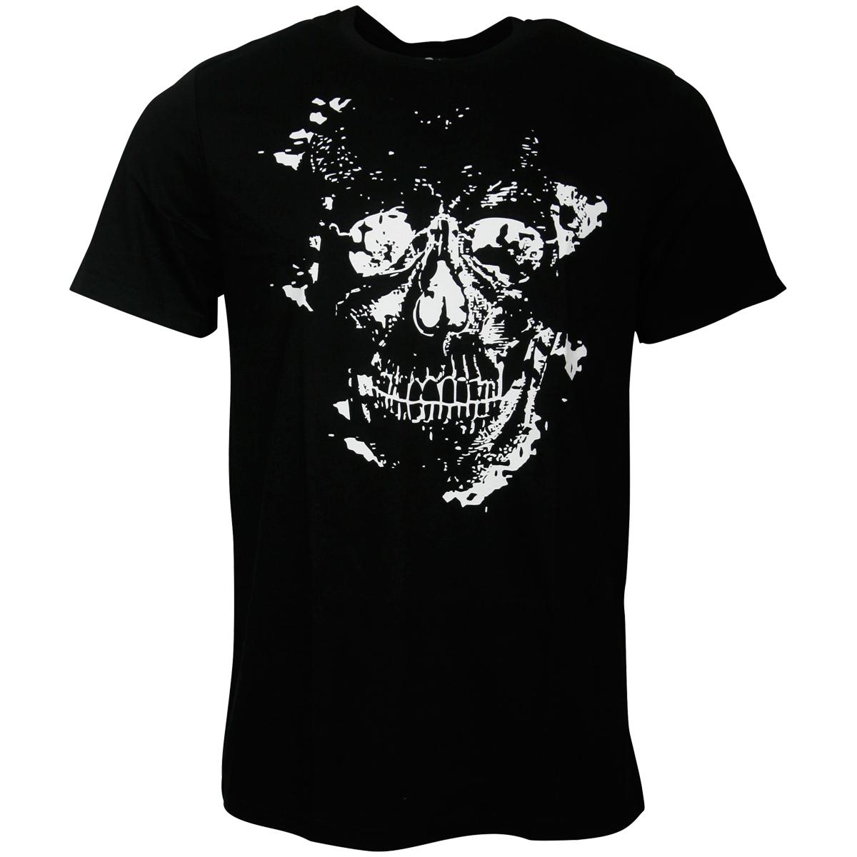 FC St. Pauli - T-Shirt Skully - schwarz