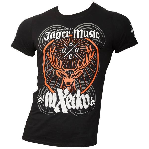 tuXedoo - T-Shirt Jägermeister - schwarz