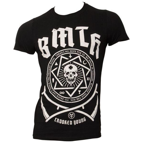 Bring Me The Horizon - T-Shirt Crooked - schwarz