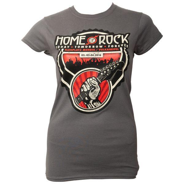 Offizielles Rock am Ring 2016 - T-Shirt Frauen - grau