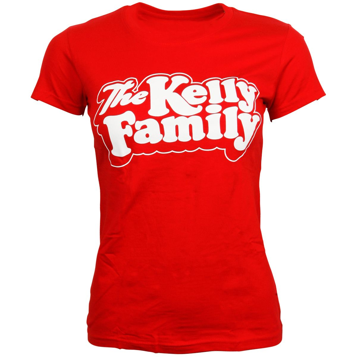 The Kelly Family - Damen T-Shirt Logo - rot