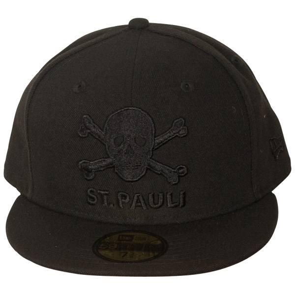 FC St. Pauli - Cap Totenkopf 59fifty - schwarz