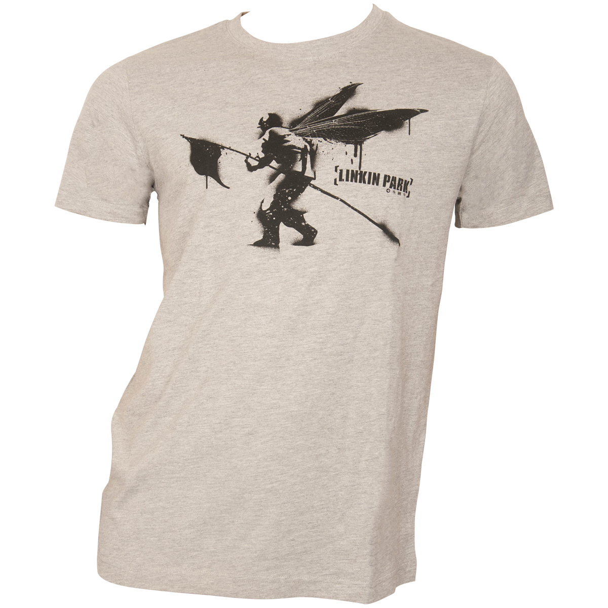 Linkin Park - T-Shirt Street Soldier - grau