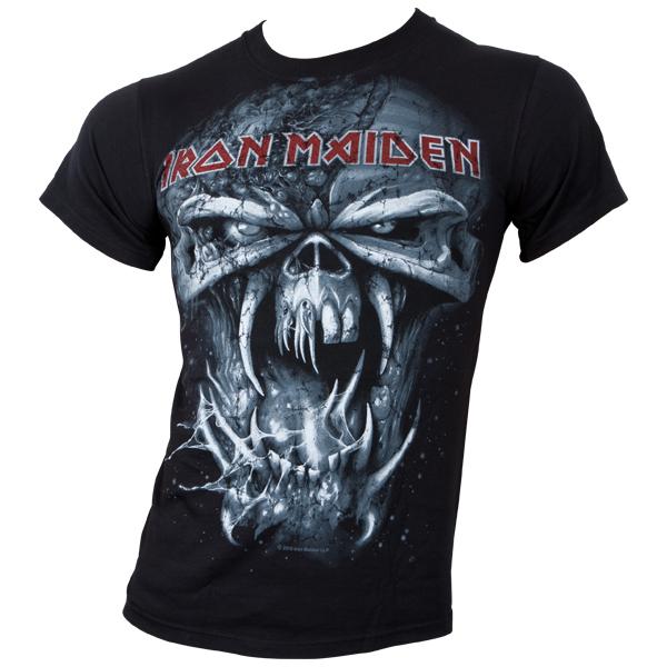 Iron Maiden - T-Shirt Final Frontier Eddie Vintage - schwarz