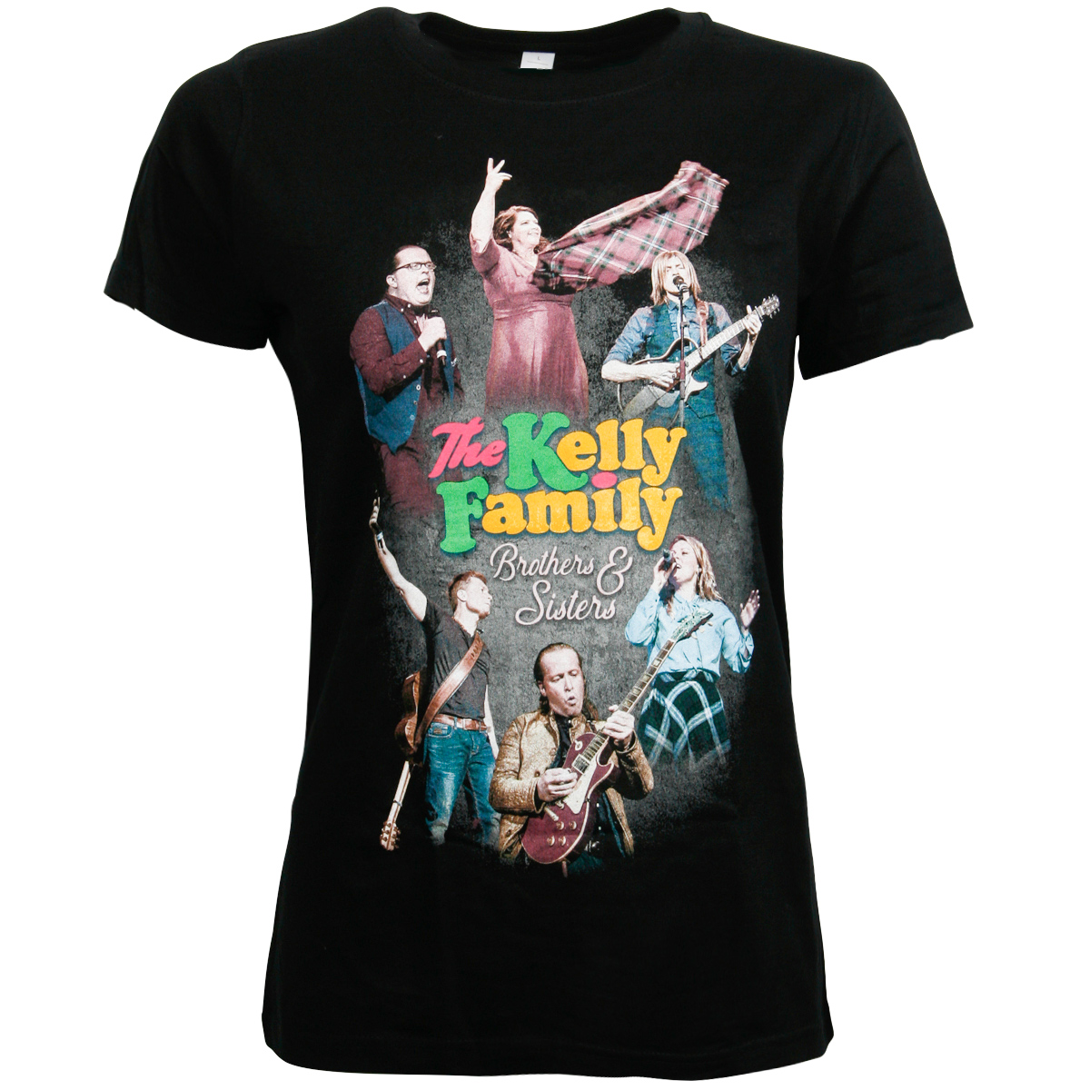 The Kelly Family - Damen T-Shirt Brothers & Sisters - schwarz