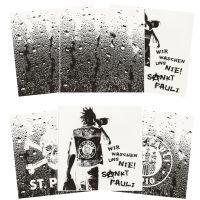 FC St. Pauli - Komplett-Set Fliesenaufkleber - 3x2 Sticker - TK-Logo-Waschen