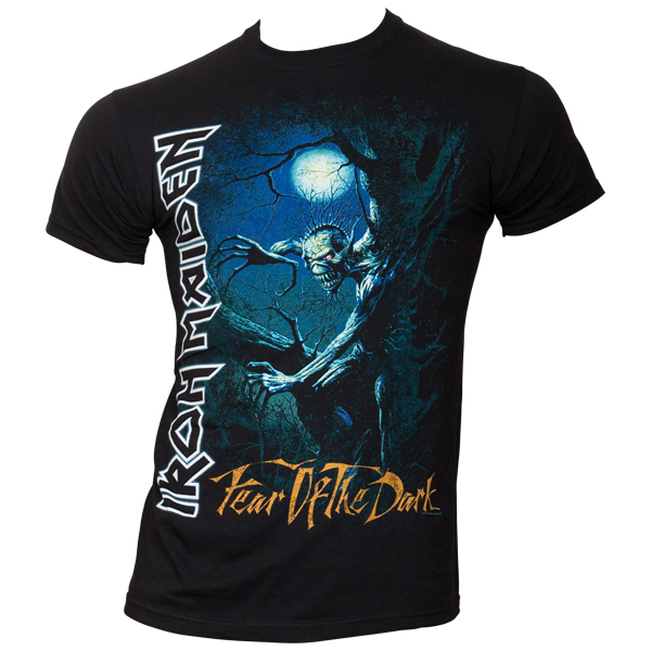 Iron Maiden - T-Shirt Fear Of The Dark Tree Sprite - schwarz