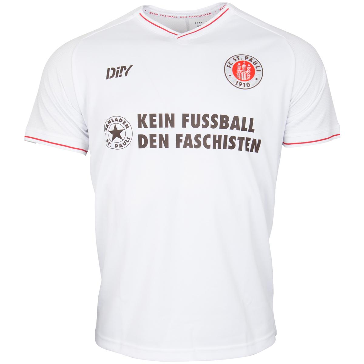 """FC St. Pauli - Trikot """"Kein Fussball den Faschisten"""" Auswärts 2021-22"""