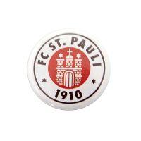 FC St. Pauli - Button Logo mit Offsetdruck