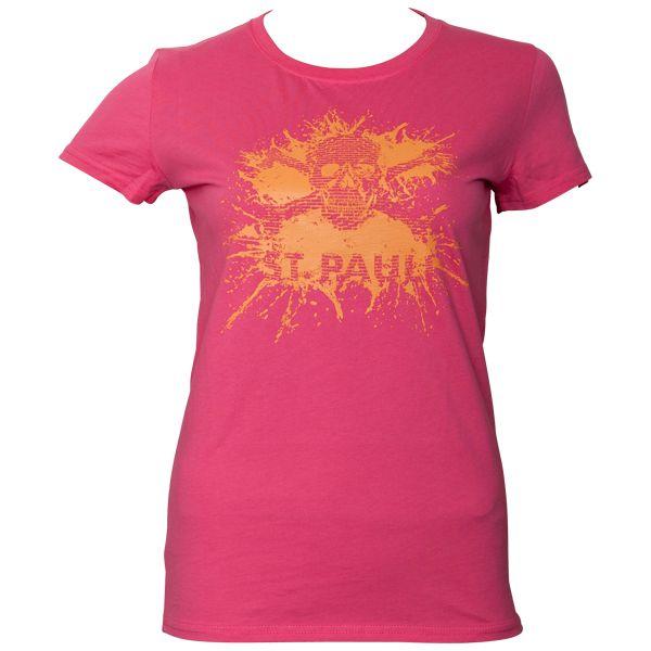 FC St. Pauli - Frauen T-Shirt Splash TK Pink-Apricot