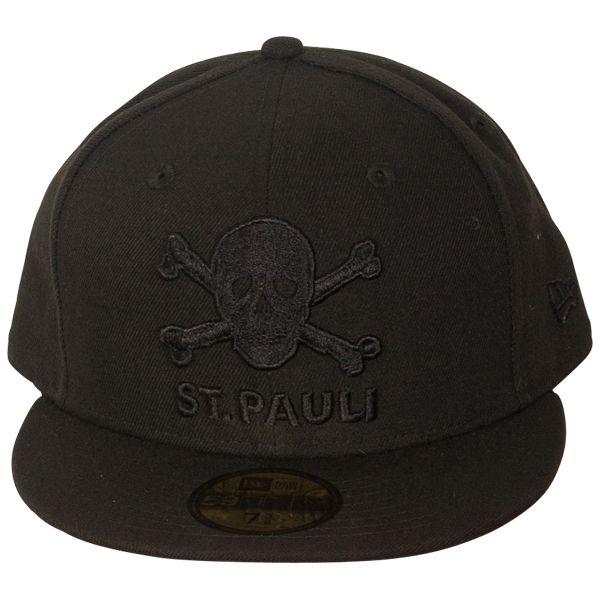 FC St. Pauli - Cap Skull Black 59fifty - black  8b1ec56bfddc