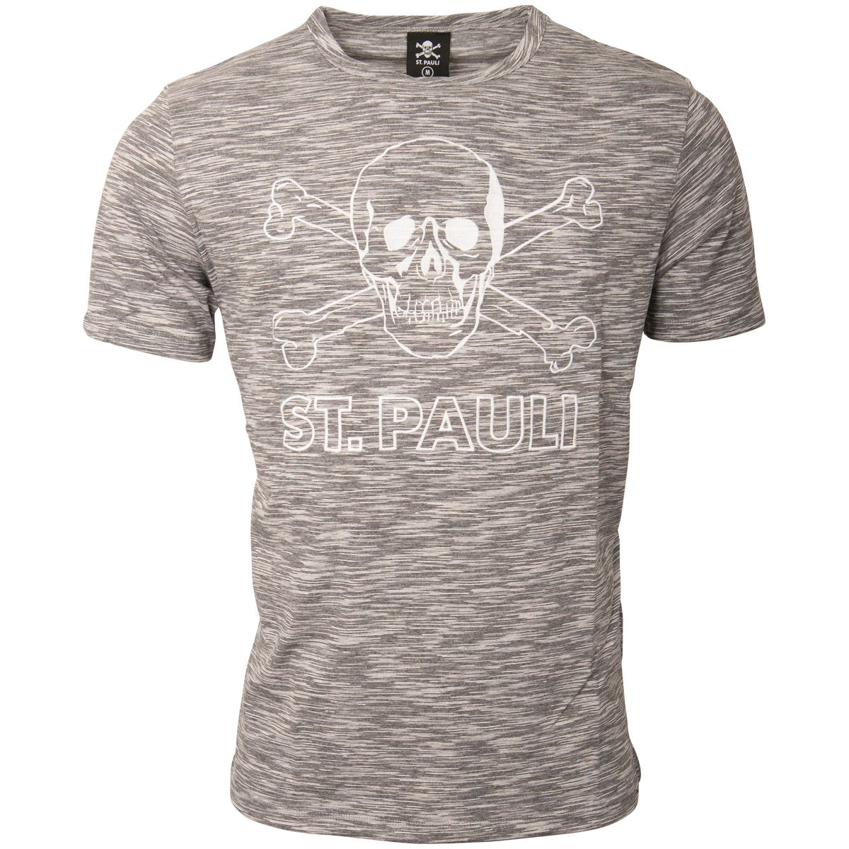 FC St. Pauli - T-Shirt Salt & Pepper - grau