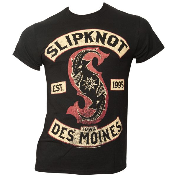 Slipknot - T-Shirt Patched Up - schwarz