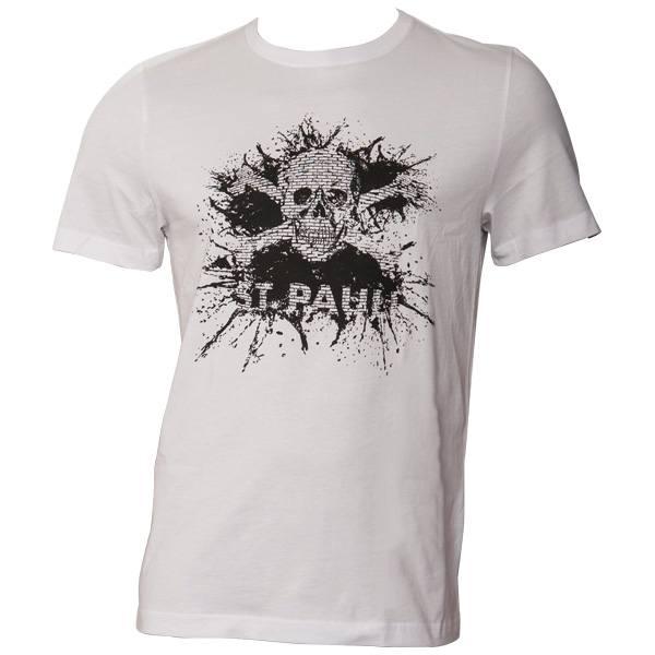 FC St. Pauli T-Shirt Splash TK Weiß-Schwarz