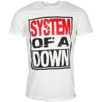 System Of A Down - T-Shirt Triple Stack Box - weiß