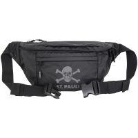 FC St. Pauli - Hip Bag Sport Reflective - schwarz