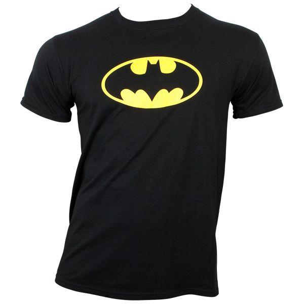 Batman - T-Shirt Logo - schwarz