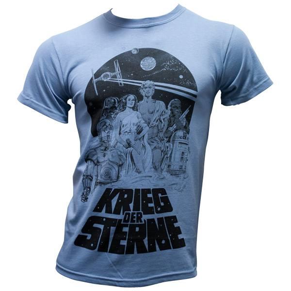 """Star Wars - T-Shirt """"Krieg der Sterne"""" - stone blau"""