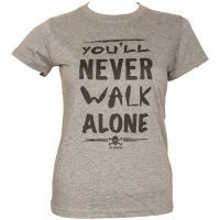 FC St. Pauli -  Damen T-Shirt You´ll Never - grau