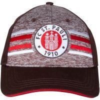 FC St. Pauli - Baseball Kappe Logo - braun