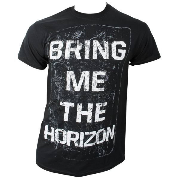 Bring Me The Horizon - T-Shirt Book Cover - schwarz