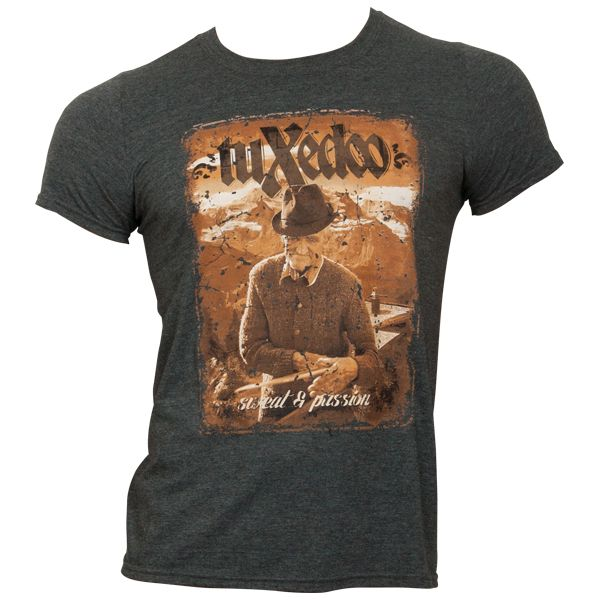 tuXedoo - T-Shirt Sweat & Passion - grau