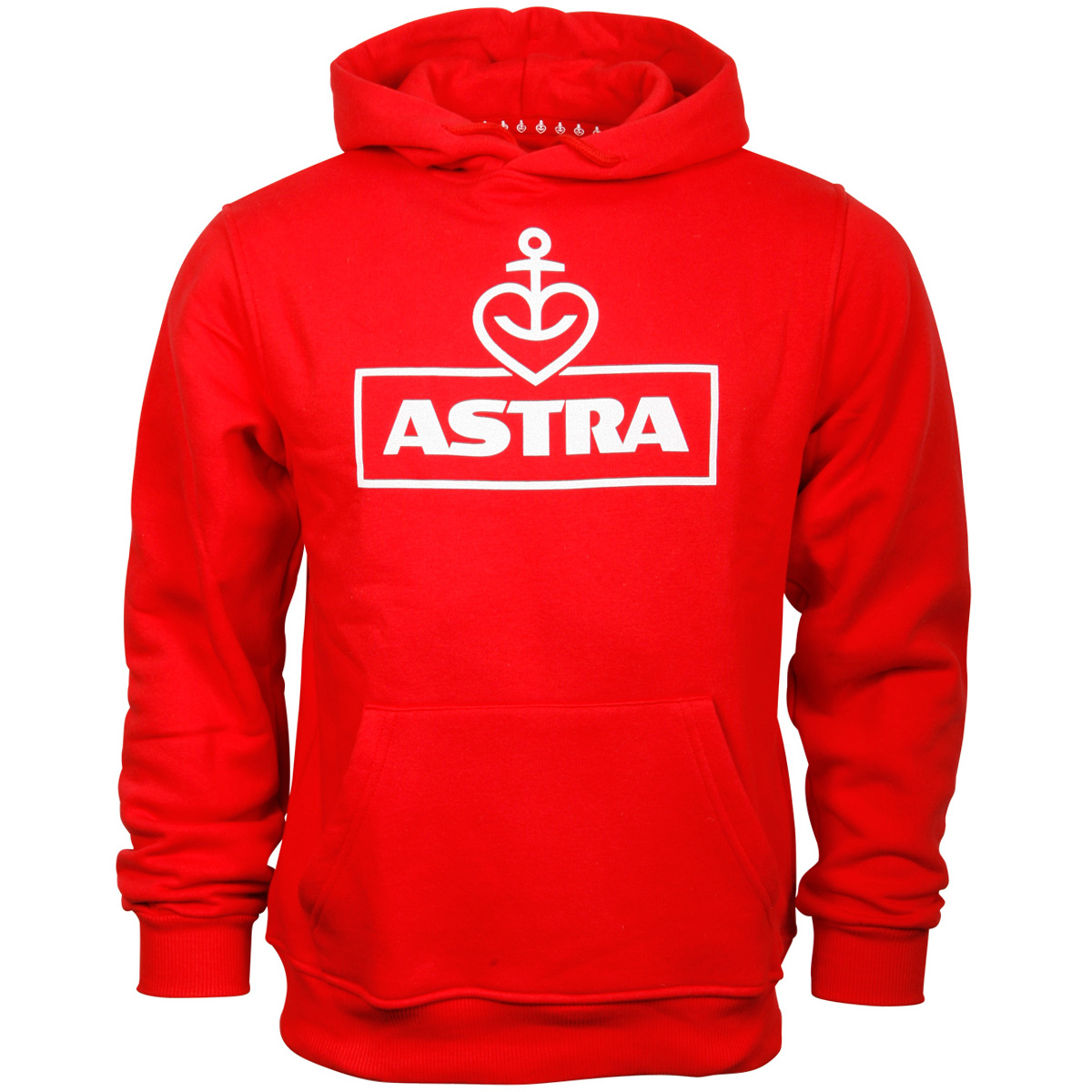 Astra - Kapuzenpullover Logo - unisex - rot