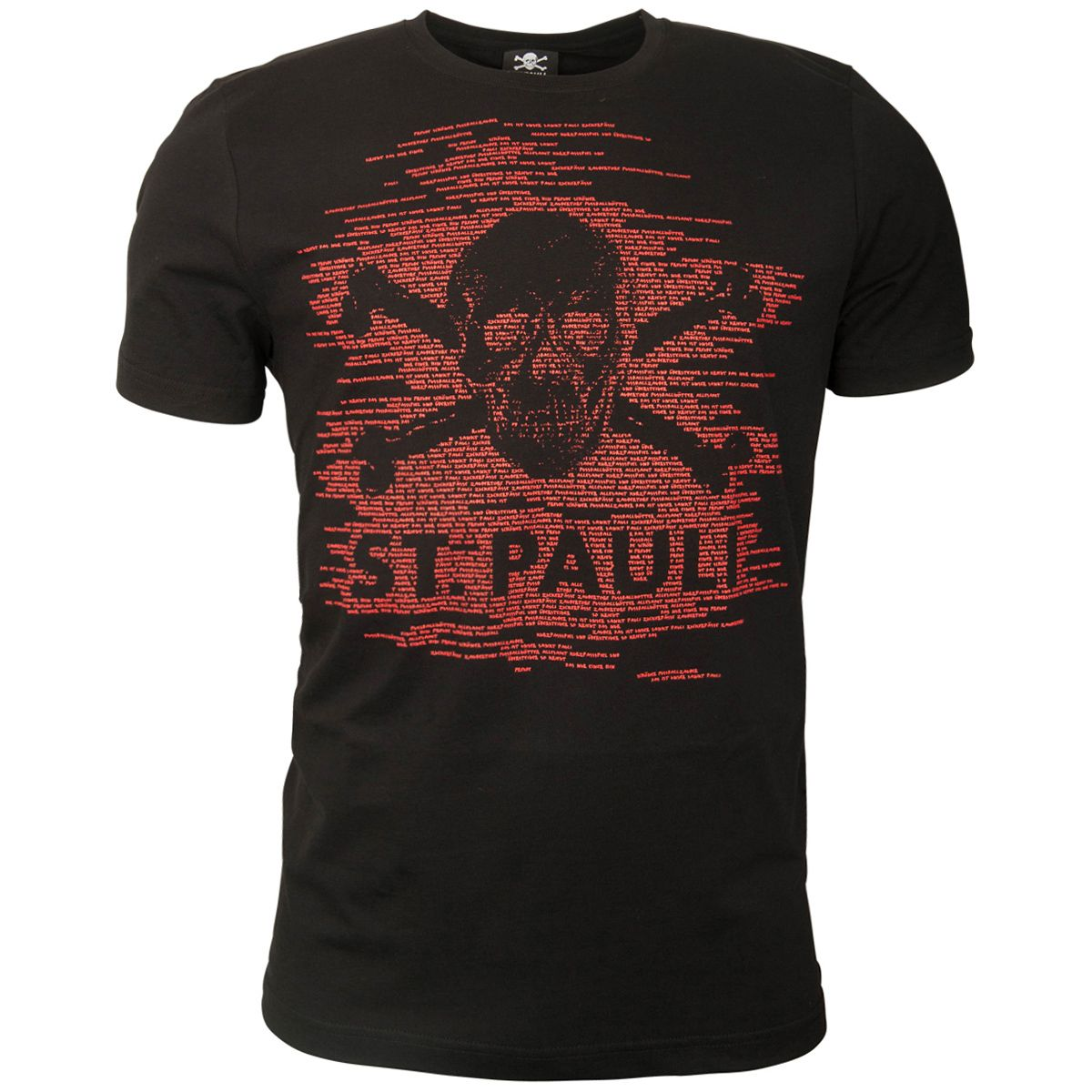 FC St. Pauli - T-Shirt TK Freude Schwarz-Rot